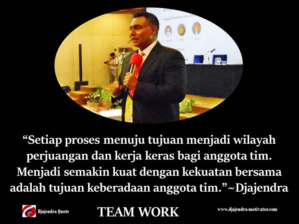 Mendukung Satu Sama Lain Untuk Kerja Tim Yang Lebih Baik Motivasi Djajendra